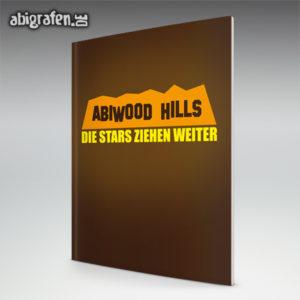 ABIwood Hills Abi Motto / Abizeitung Cover Entwurf von abigrafen.de®