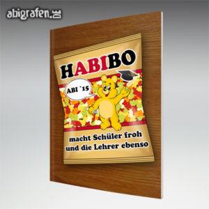 HABIbo Abi Motto / Abizeitung Cover Entwurf von abigrafen.de®