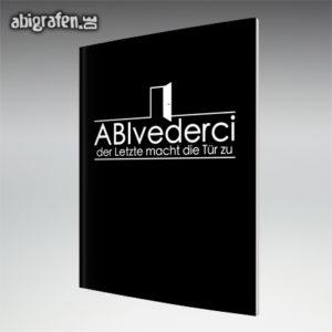 ABIvederci Abi Motto / Abizeitung Cover Entwurf von abigrafen.de®