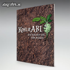KohlrABI Abi Motto / Abizeitung Cover Entwurf von abigrafen.de®