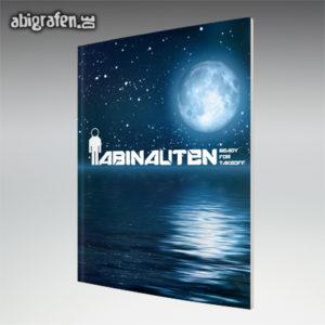 ABInauten Abi Motto / Abizeitung Cover Entwurf von abigrafen.de®