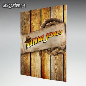 ABIana Jones Abi Motto / Abizeitung Cover Entwurf von abigrafen.de®