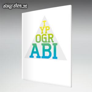 TypogrABI Abi Motto / Abizeitung Cover Entwurf von abigrafen.de®