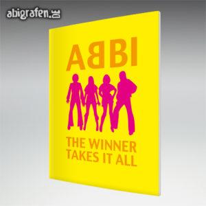 ABBI Abi Motto / Abizeitung Cover Entwurf von abigrafen.de®