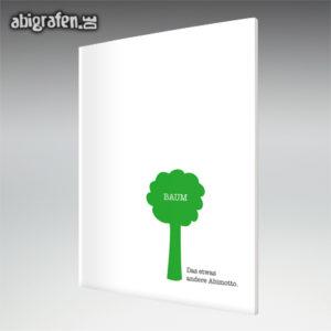 Baum Abi Motto / Abizeitung Cover Entwurf von abigrafen.de®