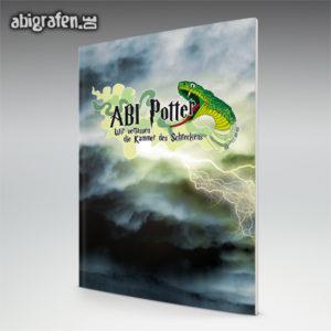 ABI Potter Abi Motto / Abizeitung Cover Entwurf von abigrafen.de®
