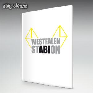 Westfalen StABIon Abi Motto / Abizeitung Cover Entwurf von abigrafen.de®
