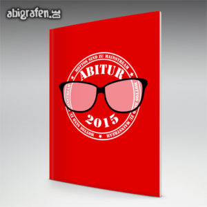 Mottos sind zu Mainstream Abi Motto / Abizeitung Cover Entwurf von abigrafen.de®