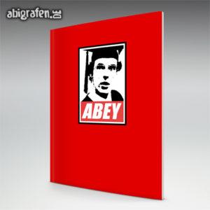 Abey Abi Motto / Abizeitung Cover Entwurf von abigrafen.de®