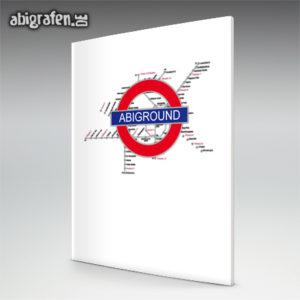 ABIground Abi Motto / Abizeitung Cover Entwurf von abigrafen.de®
