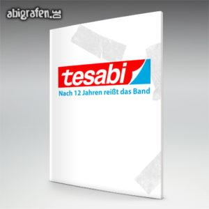 Tesabi Abi Motto / Abizeitung Cover Entwurf von abigrafen.de®