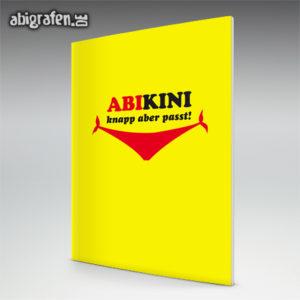 ABIkini Abi Motto / Abizeitung Cover Entwurf von abigrafen.de®
