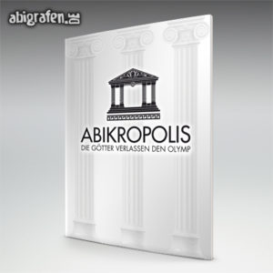 ABIkropolis Abi Motto / Abizeitung Cover Entwurf von abigrafen.de®