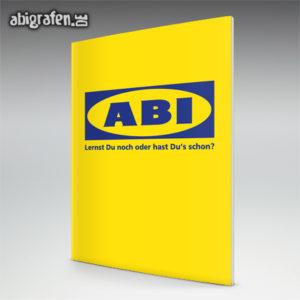 ABIkea Abi Motto / Abizeitung Cover Entwurf von abigrafen.de®