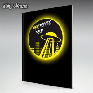 ABIcalypse Now Abi Motto / Abizeitung Cover Entwurf von abigrafen.de®