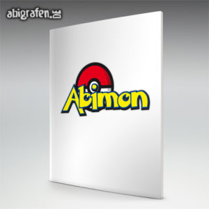 ABImon Abi Motto / Abizeitung Cover Entwurf von abigrafen.de®
