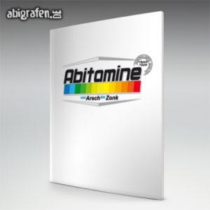 ABItamine Abi Motto / Abizeitung Cover Entwurf von abigrafen.de®