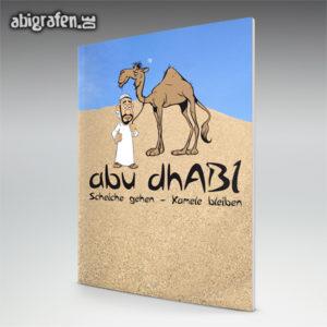 AbudhABI - Abi Motto / Abizeitung Cover Entwurf von abigrafen.de®