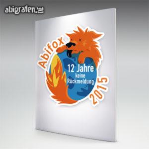 ABIfox Abi Motto / Abizeitung Cover Entwurf von abigrafen.de®