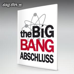 The Big Bang Abschluss Abi Motto / Abizeitung Cover Entwurf von abigrafen.de®