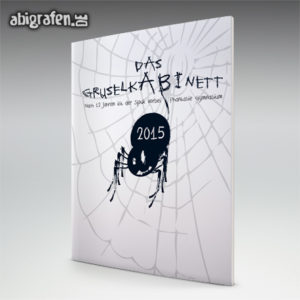 GruselkABInett Abi Motto / Abizeitung Cover Entwurf von abigrafen.de®