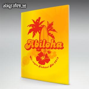 ABIloha Abi Motto / Abizeitung Cover Entwurf von abigrafen.de®