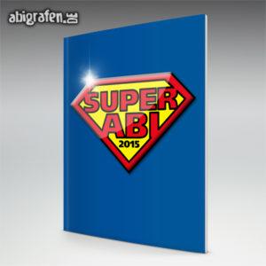 SuperABI Abi Motto / Abizeitung Cover Entwurf von abigrafen.de®