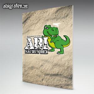 ABIsaurus Rex Abi Motto / Abizeitung Cover Entwurf von abigrafen.de®