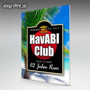 HavABI Club Abi Motto / Abizeitung Cover Entwurf von abigrafen.de®