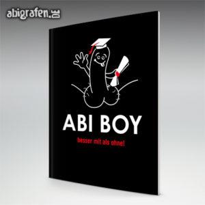 Abi Boy Abi Motto / Abizeitung Cover Entwurf von abigrafen.de®