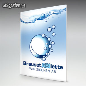 BrausetABIlette Abi Motto / Abizeitung Cover Entwurf von abigrafen.de®