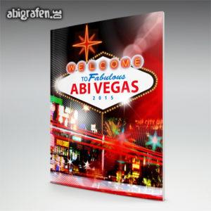 Welcome to fabulous ABIvegas Abi Motto / Abizeitung Cover Entwurf von abigrafen.de®