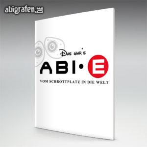 Ab·E Abi Motto / Abizeitung Cover Entwurf von abigrafen.de®