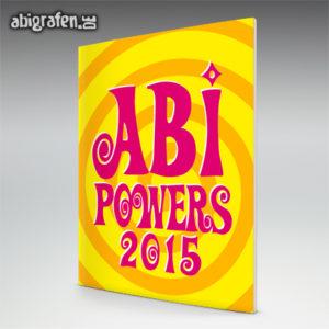 Abi Powers Abi Motto / Abizeitung Cover Entwurf von abigrafen.de®