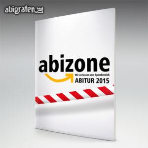 ABIZone Abi Motto / Abizeitung Cover Entwurf von abigrafen.de®