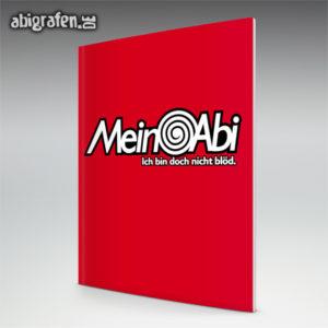 Mein Abi Abi Motto / Abizeitung Cover Entwurf von abigrafen.de®