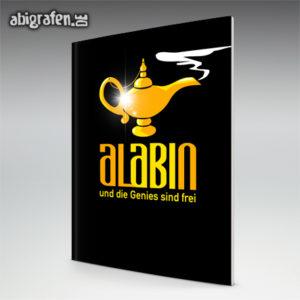 AlABIn Abi Motto / Abizeitung Cover Entwurf von abigrafen.de®