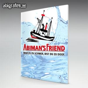 ABImen's Friend Abi Motto / Abizeitung Cover Entwurf von abigrafen.de®