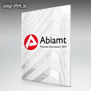Abiamt Abi Motto / Abizeitung Cover Entwurf von abigrafen.de®