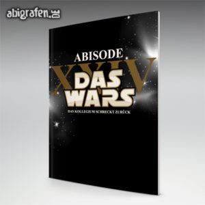 ABIsode XX Abi Motto / Abizeitung Cover Entwurf von abigrafen.de®