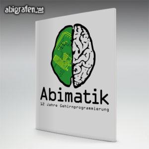 ABImatik Abi Motto / Abizeitung Cover Entwurf von abigrafen.de®