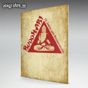 BuddhABI Abi Motto / Abizeitung Cover Entwurf von abigrafen.de®