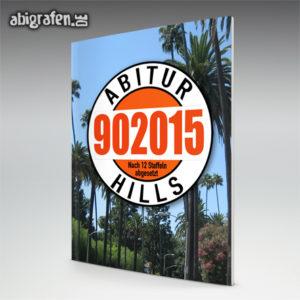 Abi Hills 90 2015 Abi Motto / Abizeitung Cover Entwurf von abigrafen.de®