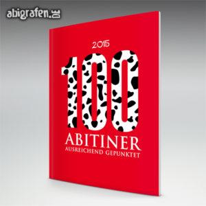 100 ABItiner Abi Motto / Abizeitung Cover Entwurf von abigrafen.de®