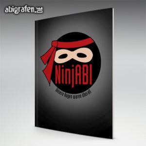 NinjABI Abi Motto / Abizeitung Cover Entwurf von abigrafen.de®