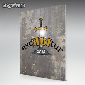 ExcABItur Abi Motto / Abizeitung Cover Entwurf von abigrafen.de®