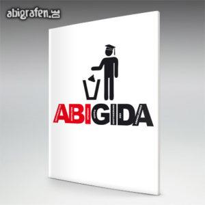 ABIGIDA Abi Motto / Abizeitung Cover Entwurf von abigrafen.de®