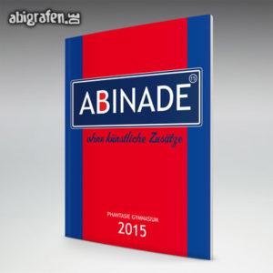 ABInade Abi Motto / Abizeitung Cover Entwurf von abigrafen.de®