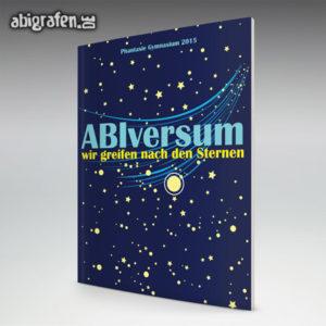 ABIversum Abi Motto / Abizeitung Cover Entwurf von abigrafen.de®