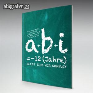 a+b+i = ABI Abi Motto / Abizeitung Cover Entwurf von abigrafen.de®